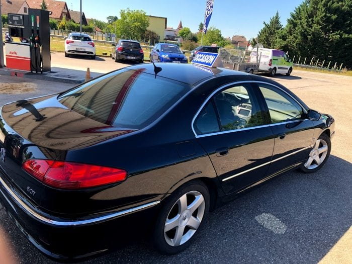 Peugeot 607 3.0 HDI V6 204 CH PACK CUIR - Image 2