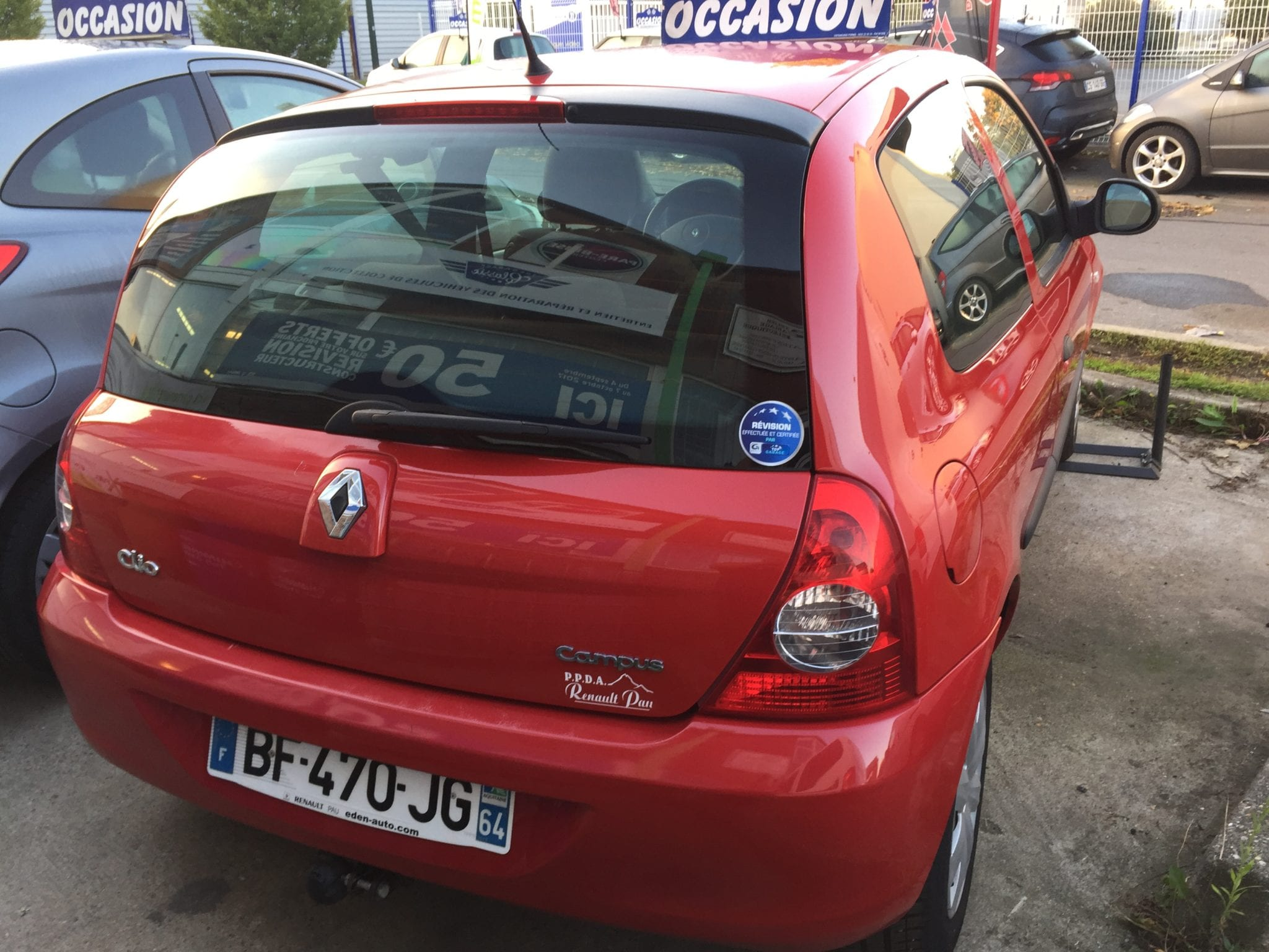 Renault CLIO 2 CAMPUS II (3) CAMPUS 1.2 60 GPL AUTHENTIQUE 3P - Image 3